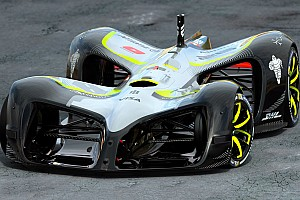 Roborace Breaking news Roboraceunveils world's first autonomous racer, 'The Robocar'