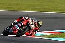 WSBK Une première journée mouvementée pour Ducati