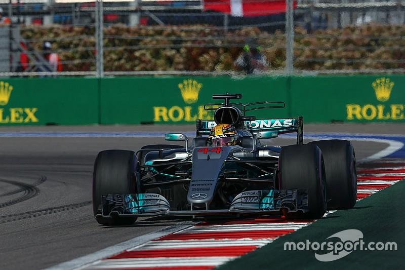 Mercedes : La W08 nécessite d'être mise au point