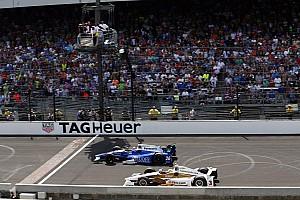 IndyCar 速報ニュース 琢磨×カストロネベス、手汗握ったインディ500