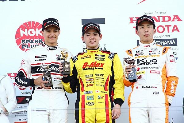 全日本F3 速報ニュース 【全日本F3】第4戦鈴鹿:高星明誠がPPから優勝。今季早くも3勝目
