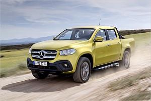 Automotive News Mercedes-Pickup: Neue X-Klasse kommt im November 2017