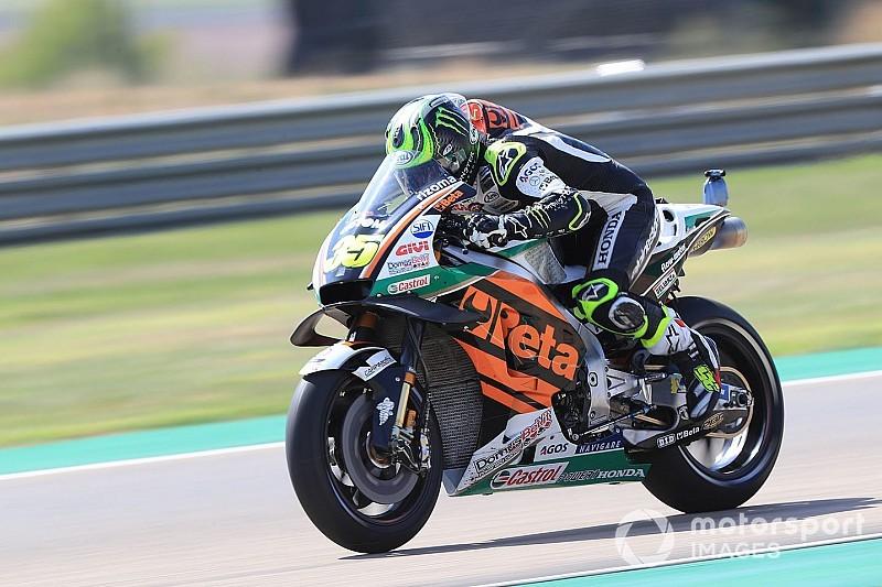 FP3 MotoGP Aragon: Crutchlow tercepat, Rossi-Vinales Q1