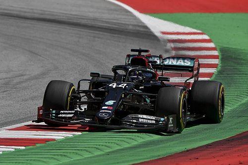 """Mercedes et Hamilton """"dans le flou"""" à l'issue d'un vendredi inquiétant"""