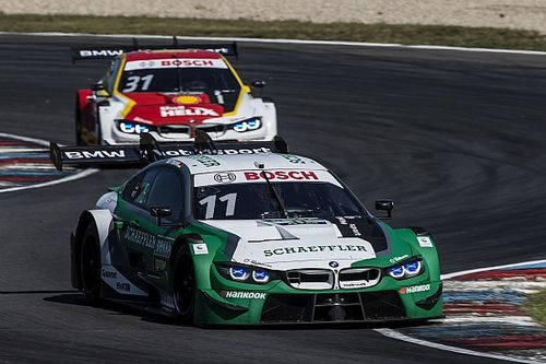 """BMW says it was """"too cautious"""" at Spa after Lausitz podium"""