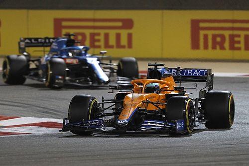 McLaren reveals Ricciardo had floor damage from Gasly clash