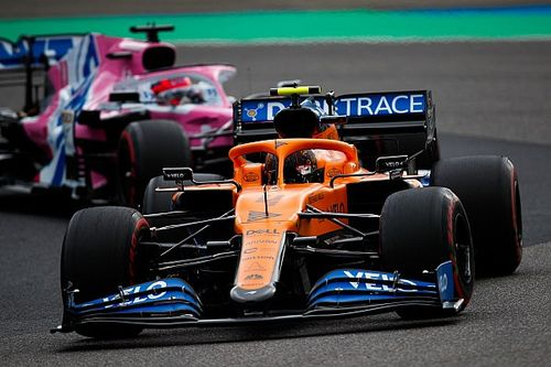 Norris failure at Eifel GP a repeat of Spa issue