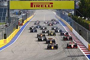La F2 y la F3 correrán en fines de semana diferentes en 2021