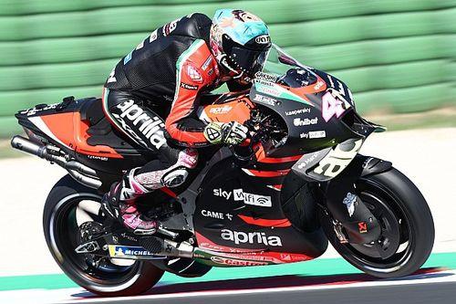 Misano MotoGP testi: Espargaro, Bagnaia'nın önünde lider