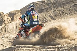 Rallye Dakar: Walkner gewinnt 8. Etappe, Motorschaden bei Brabec