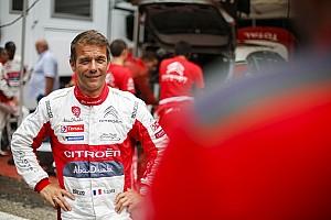WRC Actualités Loeb en test avec Citroën mercredi