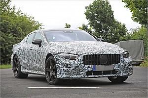 Automotive News Spyshots: Der neue Mercedes-AMG GT4