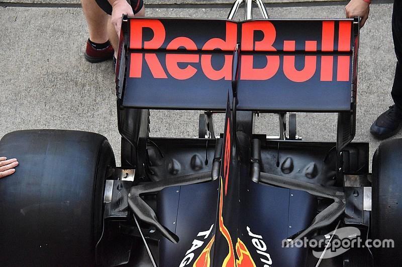 Nem csak dísznek vannak a Red Bull diffúzorán a lyukak