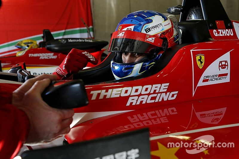 Hockenheim F3: Zhou wins as clash postpones Schumacher coronation