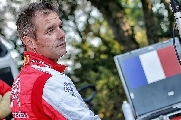 WRC Test Citroen, Loeb ammette: