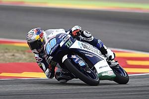 Moto3 Crónica de Clasificación Jorge Martín se fue al piso, pero logró la pole en Moto3