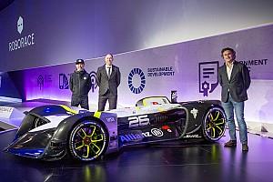 Roborace News RoboRace enthüllt ersten fahrerlosen Rennwagen der Welt