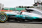 Forma-1 Közelről a 2017-es Mercedes: Hamilton és Bottas