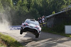 WRC Отчет о секции Лаппи одержал первую победу в WRC