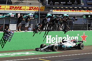 Formula 1 Race report Italian GP: Hamilton leads crushing Mercedes 1-2 to take points lead