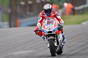 MotoGP Practice report MotoGP Jerman: Dovizioso tercepat di FP1, Rossi ke-16