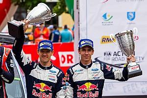 WRC 速報ニュース 【WRC】3位のオジェ「ドライブしている間、