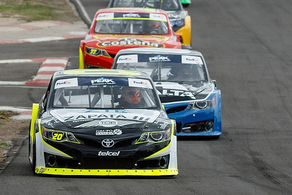 NASCAR Mexico Victoria de Abraham Calderón en Aguascalientes