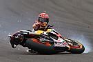 GALERI: Marc Marquez terjatuh di MotoGP Argentina