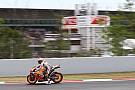 A Barcellona piove: posticipati a domani i test Michelin di MotoGP