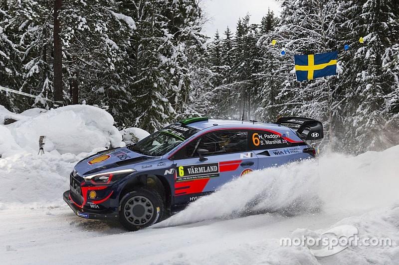 Svezia, PS5: gran tempo di Paddon. Lappi vola ed è secondo!