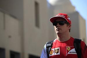 Die Wonne stirbt nie: Kimi Räikkönen hat noch Spaß am Fahren