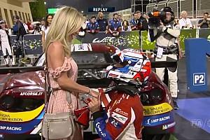 WEC Últimas notícias VÍDEO: Piloto vence corrida e pede namorada em casamento