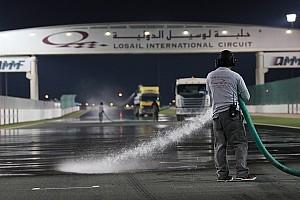 MotoGP Galería Galería: así mojaron artificialmente la pista de Qatar