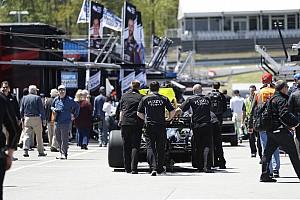 IndyCar Новость Старт гонки IndyCar в Бирмингеме перенесли