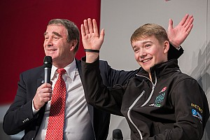 Formula 1 Interview Video: Billy Monger meets Nigel Mansell at ASI 2018