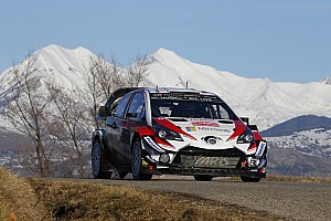 WRC Etappeverslag WRC Monte Carlo: Tanak loopt in op Ogier