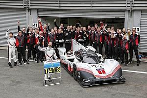 WEC News Porsche 919 entfesselt: So gelang die Rekordrunde in Spa