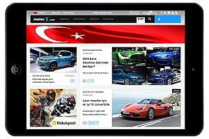 Motor1.com startet türkische Version seiner Plattform