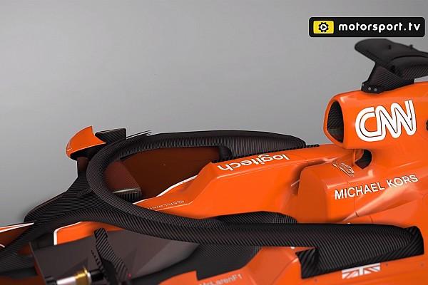 F1 VIDEO: el Halo de McLaren