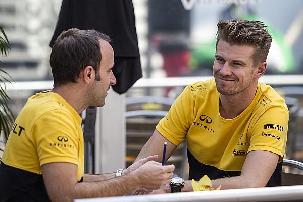 Forma-1 Motorsport.com hírek A Renault és Hülkenberg is úgy megy az utolsó futamra, mintha a VB-cím múlna rajta