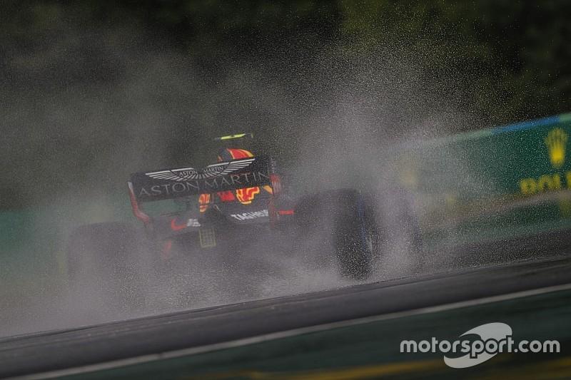 Red Bull rätselt: Warum plötzlich so schlecht im Regen?