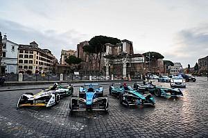Formel E News Ciao, Rom! Formel E präsentiert Rennen in der