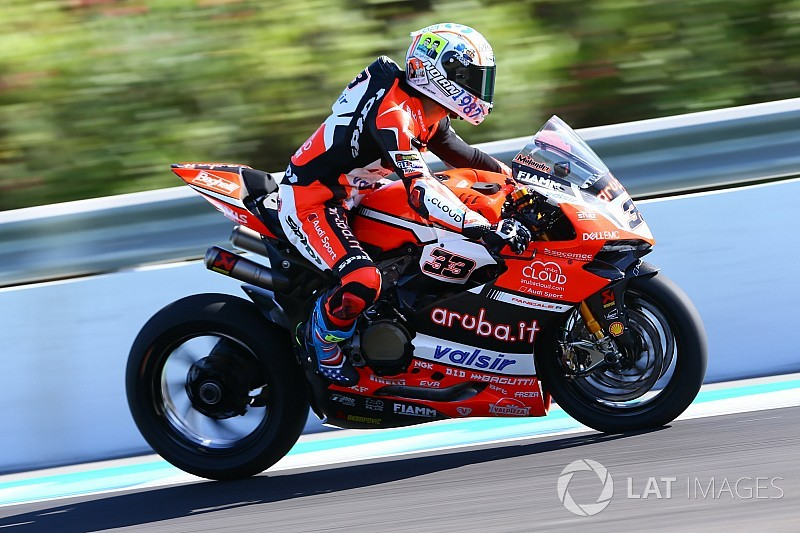 FP3 WorldSBK Spanyol: Melandri bawa Ducati teratas