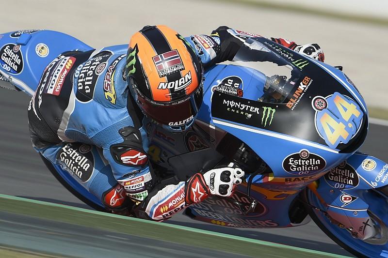 Moto3 Assen: Canet de rapste op vrijdag, crash Martin