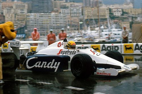When Senna and Bellof starred in Monaco, as Prost prevailed