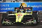 IndyCar Sébastien Bourdais remporte la manche d'ouverture!