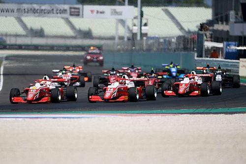 Смотрите прямо сейчас: третья гонка Формулы Regional в Муджелло