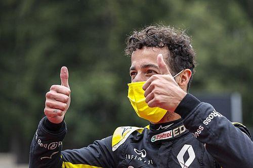 """Ricciardo celebra 4º lugar e esbanja otimismo: """"Temos bom ritmo"""""""