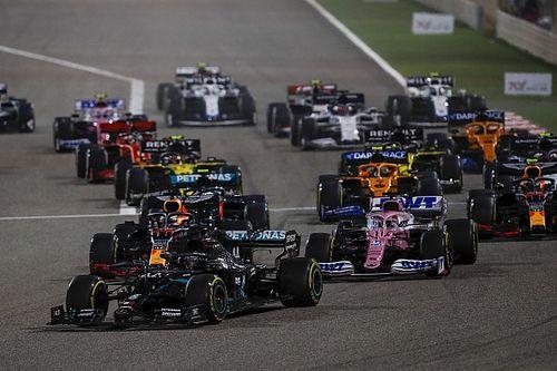 Положение в общем зачете Формулы 1 после Гран При Бахрейна