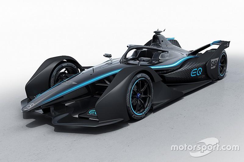 Mercedes, Formula E konsept renk düzenini yayınladı